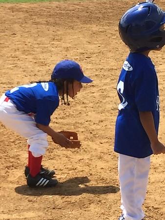 2015 Kings First Baseball Game